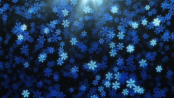 Thumbnail for Snowflakes Abstract Background