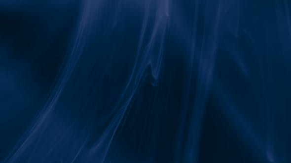 Cover Image for Blue Ink and Particles Slowly Floating Like Smoke