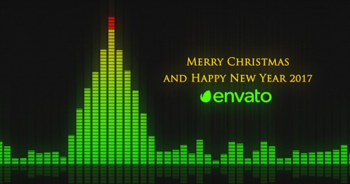Download Audio Meter Christmas Wishes by VProxy