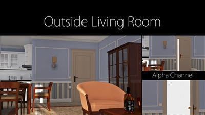 Outside Living Room