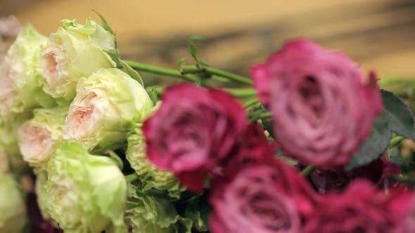 Thumbnail for Delightful Lemon Ruby and Garnet Roses, .