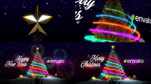 Christmas and new year greeting cards by dreamyardvisuals on envato thumbnail for christmas tree new year greetings m4hsunfo