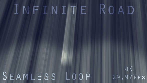 Thumbnail for Endless Driving Road With Car Lights