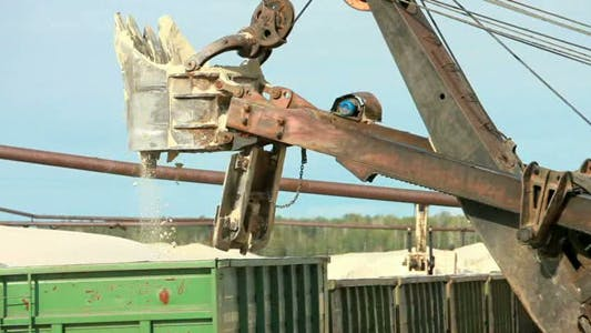Thumbnail for Working Excavator