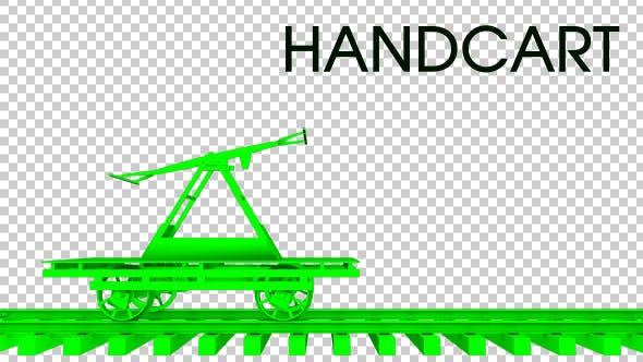 Thumbnail for 3D Handcart Train