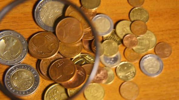 Thumbnail for Magnifier And Euro Coin