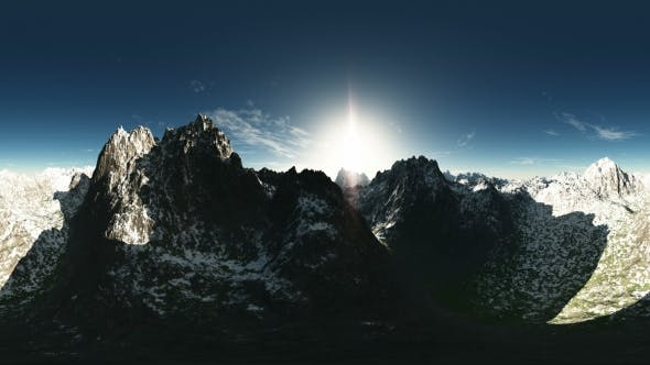 Thumbnail for Antenne VR 360 Panorama der Berge