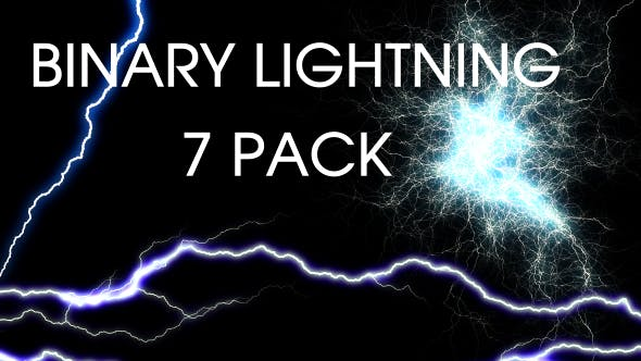 Thumbnail for Binary Lightning (Pack of 7)