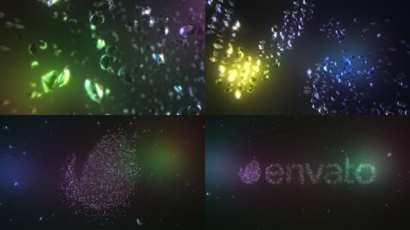 Thumbnail for Diamonds Element 3D Logo Text Reveal V2