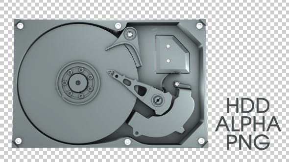 Thumbnail for 3D Hard Disk Drive HDD Working