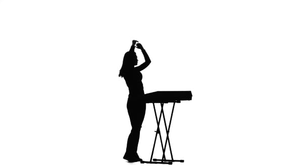 Thumbnail for Woman Dj Playing the Piano