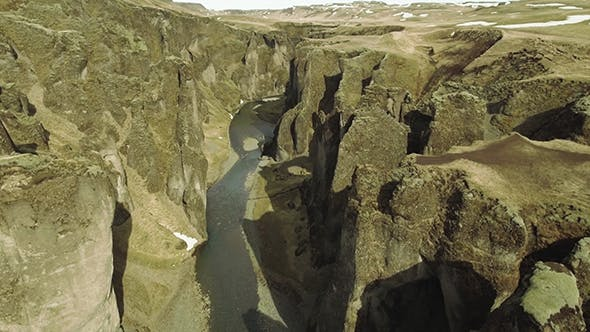 Thumbnail for Mossy Canyon In South Iceland, Fjadrarglufur
