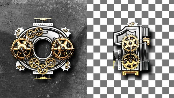 Thumbnail for Loop Metal Numbers with Gears Mechanic