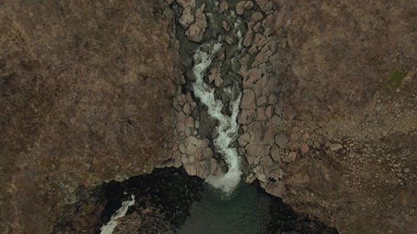Thumbnail for Svartifoss Waterfall Surrounded By Basalt in Iceland
