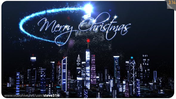 Thumbnail for Christmas Tree over the City!