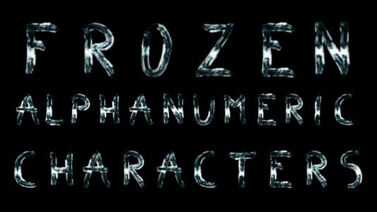 Thumbnail for Frozen Alphanumeric Characters
