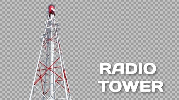 3D Broadcast Tower