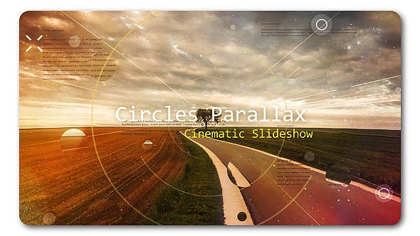 Thumbnail for Cirlce Parallax | Cinematic Slideshow