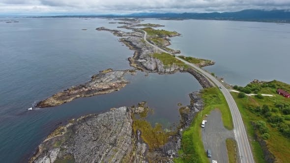 Cover Image for Atlantic Ocean Road in Norway