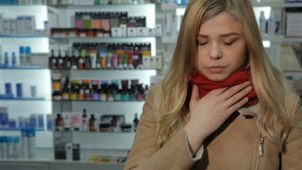 Thumbnail for Woman Comes To Drugstore with Cold