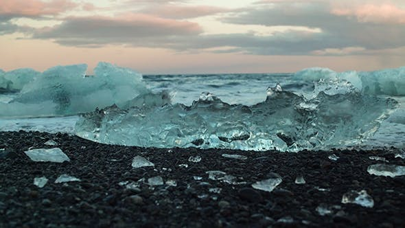 Thumbnail for Waves Crashing On The Ice