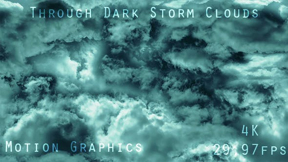 Thumbnail for Dark Cinematic Stormy Clouds