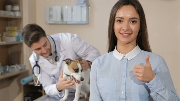 Thumbnail for Girl Approves Veterinarian Clinic