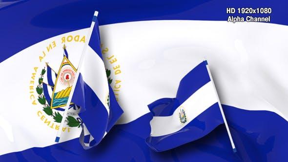 Thumbnail for Flag Transition - El Salvador