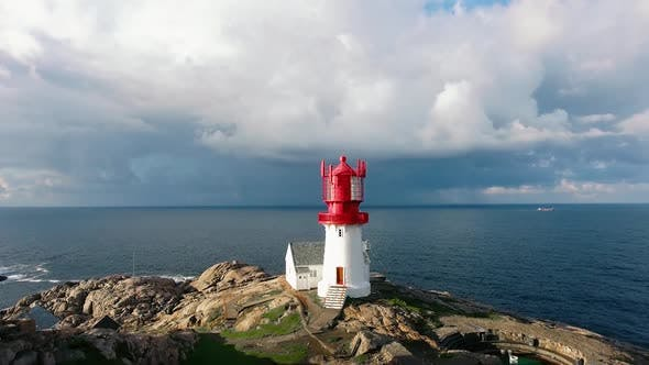 Lindesnes Fyr Lighthouse in Norway