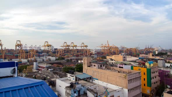 Thumbnail for Container Port Panorama, Colombo, Sri Lanka