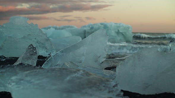 Thumbnail for Melted Icebergs On The Beach