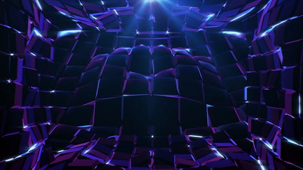 Thumbnail for Purple Cubes Waves
