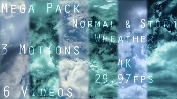 Thumbnail for Flying Through Clouds In Normal And Stormy Weather