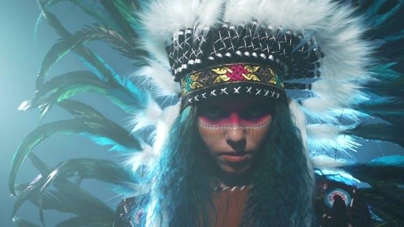 Thumbnail for Native American Woman Portrait