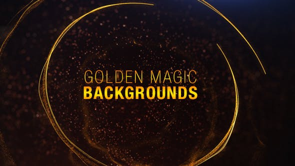 Magic Gold Backgrounds