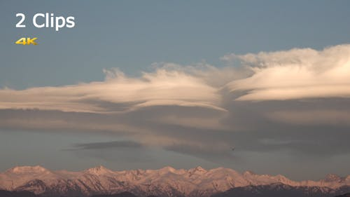 Lenticular Clouds (2 Clips)