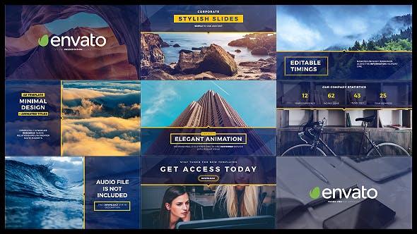 Thumbnail for Diapositives et titres élégants