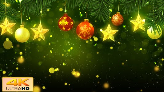 Thumbnail for Christmas Background Green