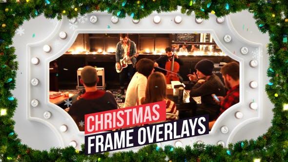 Christmas Frames Overlay