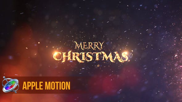 Thumbnail for Christmas Wishes I Apple Motion
