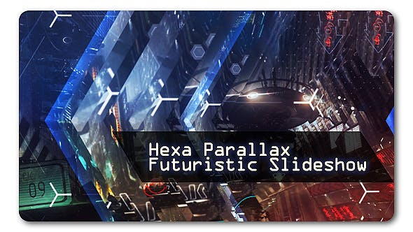 Thumbnail for Hexa Parallax | Futuristic Slideshow