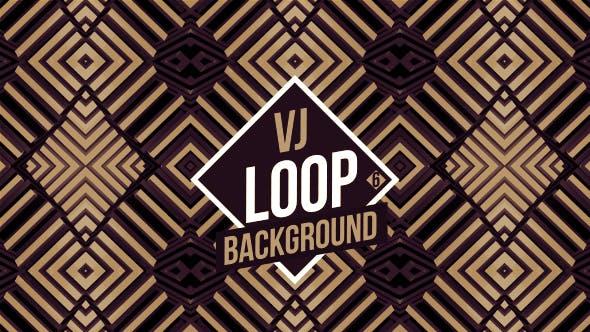 Dominos Kaleidoscope VJ Loop V6