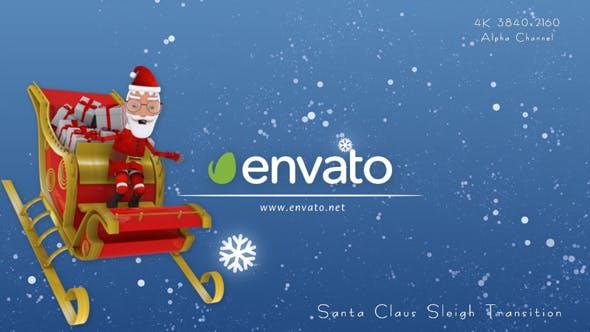 Thumbnail for Santa Claus Sleigh Transition