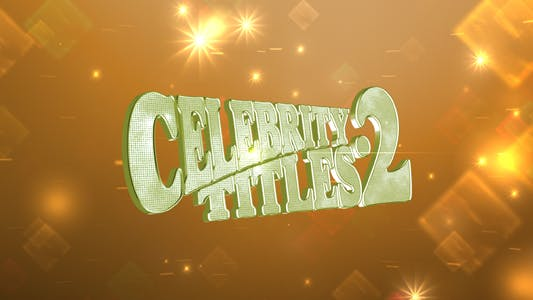 Thumbnail for Celebrity Titles 2