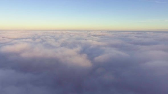 Thumbnail for Flyig Above Clouds at Morning
