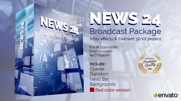 Thumbnail for News 24 Broadcast Package