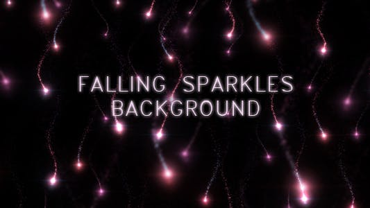 Thumbnail for Falling Sparkles Background