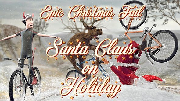 Thumbnail for Santa Claus on Holiday - Epic Christmas Fail