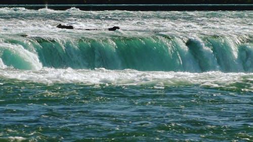 Streams of Water of the Mighty Niagara Falls
