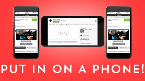 Elegant Web / App Phone Presentation